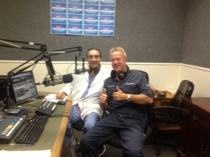 Michael Lange OD and John LiVecchi MD, The Eye Guys in the am.
